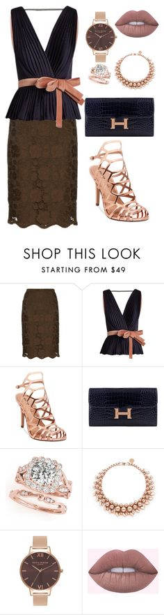 """Wow"" by lizz-med ❤ liked on Polyvore featuring N°21, Roksanda, Madden Girl, Hermès, Ellen Conde and Olivia Burton"