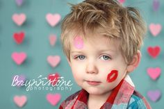 Tutorial: Heart Garland Backdrop - Valentine's Day Photography