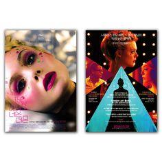 The Neon Demon Movie Film Poster Elle Fanning, Jena Malone, Nicolas Winding Refn #MoviePoster
