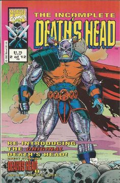 Marvel The Incomplete Deaths Head comic issue 2