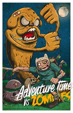 Adventure Time vs. Zombies - Created by Julio Mendoza
