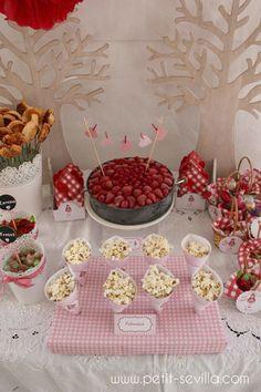 decoracion cumpleaños niña caperucita roja