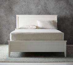 Clara Bed & Headboard #potterybarn