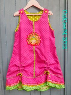 Schnittmuster: OONA - Farbenmix Baby Dress