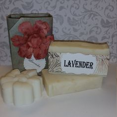 Soothing, calming, and relaxing are just a few words that describe this soap. Just smelling it calms me and makes me happy. It smells delicious