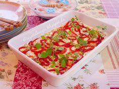 Az otthon ízei: Tejfölben pácolt mozzarella Mozzarella, Cheese Recipes, Pasta Salad, Food And Drink, Ethnic Recipes, Crab Pasta Salad, Noodle Salads, Quiche Recipes