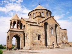 Armenian architecture - Saint Hripsime Church, 618, with later alterations, an important early church