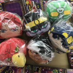 JoJo/'s Bizarre Adventure Potekoro Mascot Plush chain Jotaro Kujo Rohan Set of 2