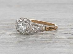 .75 Carat Edwardian Engagement Ring
