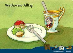 "#Vorarlberger Bloghaus: [ #SCHULtopia ] Hallo Beethoven - Beethoven für ""K... Feldkirch, Science, Education, School, Kids, Kunst"