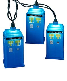 Another great find on #zulily! Doctor Who Blue Tardis Light String #zulilyfinds