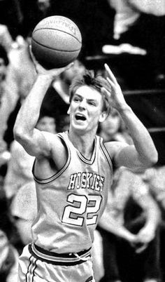 All-American Detlef Schrempf helped lead Washington to shares of the Pac-10 conference title in 1984 and 1985.