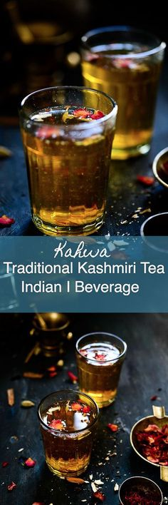 Kashmiri Kahwa is a traditional Kashmiri tea flavoured with cardamom and infused with cloves, cinnamon and saffron. Here is how to make this refreshing beverage. Indian I Kashmiri i tea i kahwah I kehwa i easy I simple I best I Traditional i authentic i