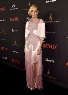Cate Blanchett Photos - The Weinstein Company and Netflix Golden Globe Party - Red Carpet - Zimbio