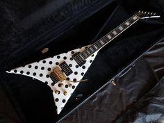 Jackson USA Custom Shop Randy Rhoads RR1.5 Black / White Polka Dots