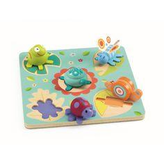 Diese tollen Holzpuzzle von Djeco eigenen sich besonders für kleine Kinder. Sie sind geeignet ab ca. 12 Monaten, leicht zu greifen, regen die Motorik und die Hand-Auge Koordination an. Das tolle Design hebt ich von den herkömmlichen...