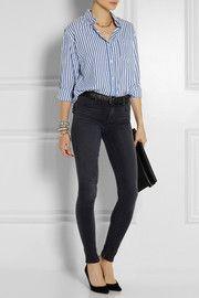 Isabel MarantEddie striped cotton shirt