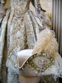 Tricorno costume andrienne 1700 by Scatola Magica