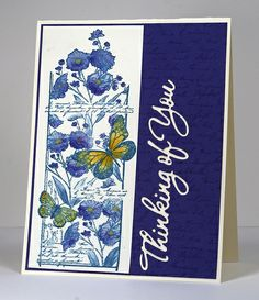 Butterfly chapter by Heather Telford, via Flickr    Penny Black stamps