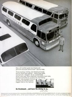 Greyhound Bus ad (1966)