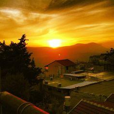 Sunset in Safed.