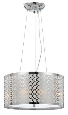 19 best drum pendant lights images on pinterest pendant lamp chrome white metallic fabric modern drum pendant light fixture chandelier hanging lamp 18w aloadofball Images