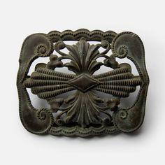 Antique belt buckle Ottoman Turkish Empire by VintageItemsPlace