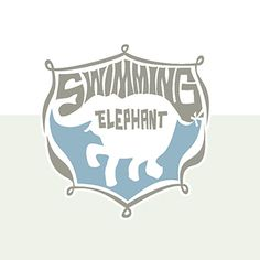 Swimming elelphant