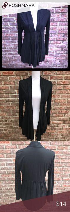 🎉🎉HP 11/29🎉🎉Alfani Black Cardigan Alfani Black Cardigan. Size Medium. EUC. One clasp closes it above the waist. Smoke free home. Alfani Sweaters Cardigans