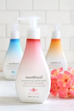 our nourishing hand wash family has grown + we're excited to welcome the newest member, cherry blossom.