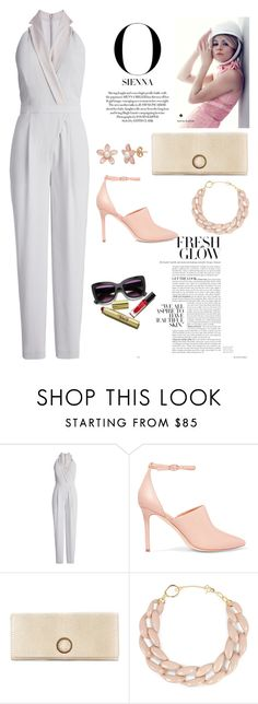 """""""JUMPSUITS!!!"""" by ann-kelley14 on Polyvore featuring Halston Heritage and DIANA BROUSSARD"""