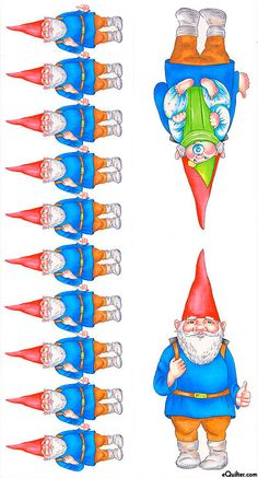 Gnomes - baby in tow