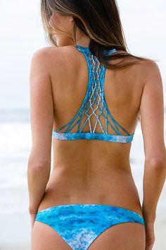 Mikoh Swimwear 2014 - Miyako Bikini Bottom Underwater Sea