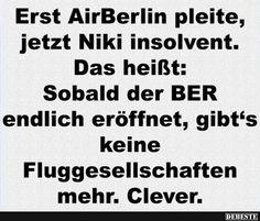 Erst AirBerlin pleite, jetzt Niki insolvent..