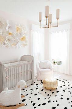 Beth's swan nursery by Beth Aschenbach of Palm Beach Lately Blog.
