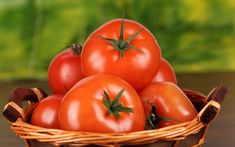 Tomato for Healthy Life Wallpaper HD