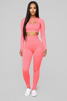 a39205de03 Stunna On The Track 3 Piece Set - Coral