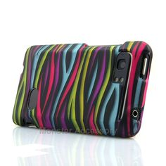 The funky zebra hard case snap on cover for the HTC Vivid is a great stylish cover case made with Grade A Abs plastic. It protects your phone from scratches and scuffs and is very affordable. Also there are many other colors available. Order today and we will ship the same business day!