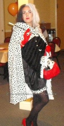40 best cruella deville costume ideas images on pinterest costume homemade cruella deville halloween costume solutioingenieria Choice Image