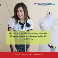 If you are looking for the best Fashion, Apparel & Interior Design,Decoration College in Bangalore, NITTEFTID is the right place to start your dream career. Fashion Designing Colleges, Fashion Designing Course, Interior Design Colleges, Decor Interior Design, Fashion Technology, Drawing Skills, Save Life, Apparel Design, Healthy Life