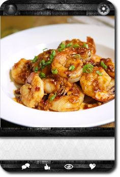 Shrimp with Spicy Garlic Sauce   Carddit