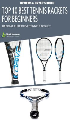 Best Tennis Rackets for Beginners Ultimate List (March) Best Tennis Racquet, Head Tennis, Muscle Power, Great Power, Buyers Guide, Rackets, Pure Products, Female, Top