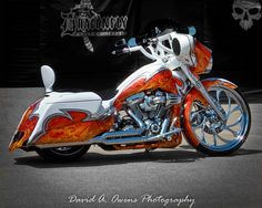 Orange & Cream Cycle at Sturgis 2012 by David A. Owens Photography, via Flickr