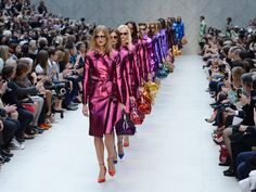 London Fashion Week to represent the occupation and interest of Vogue readers