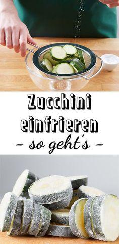 Zucchini ist ein echtes Sommergemüse, das du problemlos einfrieren kannst. So bleibt es lange haltbar und du kannst es auch im Winter noch genießen.