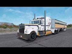 American Truck Simulator, Semi Trucks, Trailers, Canada, Hang Tags, Big Rig Trucks