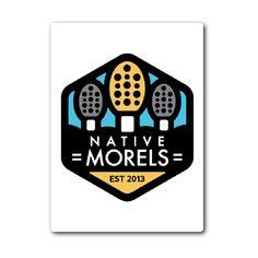 Sticker - Native Morels Logo
