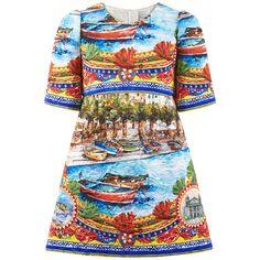 Dolce & Gabbana - Платье Mini Me из парчи - 167528