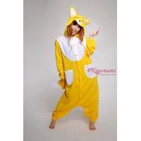 fox onesie, fox kigurumi, kigurumi pajamas