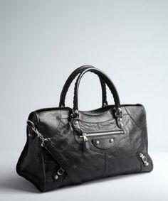 info @ashleesloves.com #Balenciaga #black #lambskin #PartTime #convertible #tote #designer #handbag #fashion #style